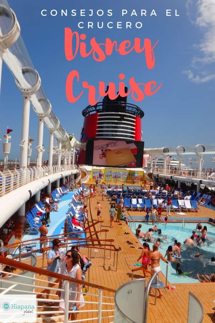 Consejos para viajes abordo el crucero Disney Cruise
