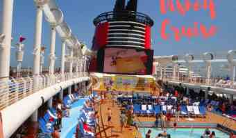 7 consejos si te vas de vacaciones en un crucero de Disney