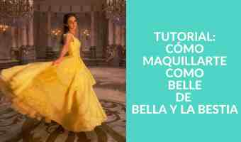 Instrucciones paso a paso para maquillarte como Belle de la Bella y la Bestia