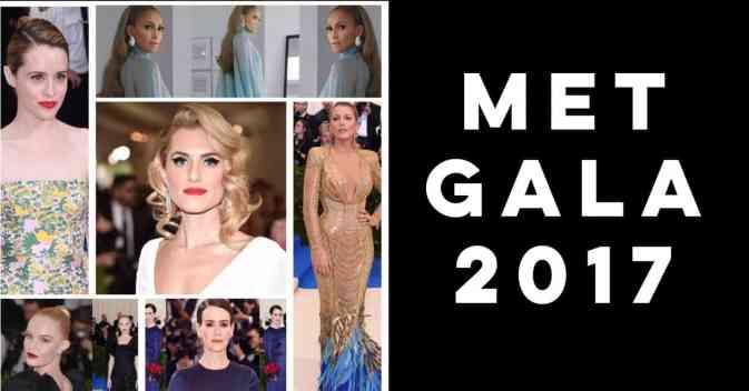 tendencias de moda y belleza de Met Gala 2017