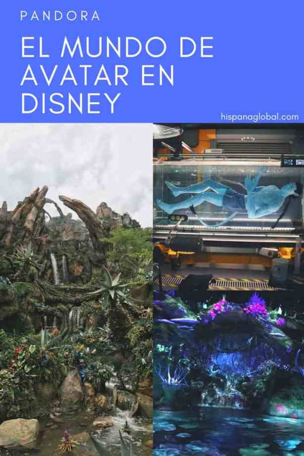 Descubre Pandora de Avatar en Animal Kingdom de Walt Disney World en Orlando