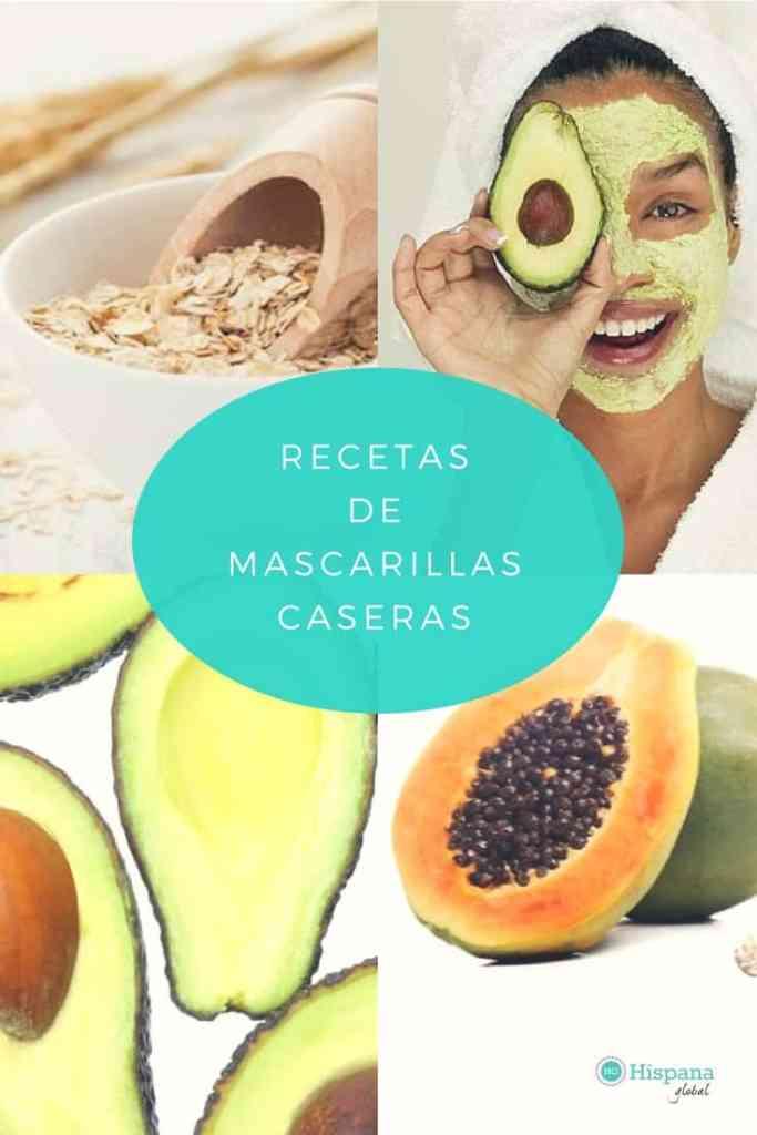 Recetas naturales de mascarillas caseras via hispanaglobal.com