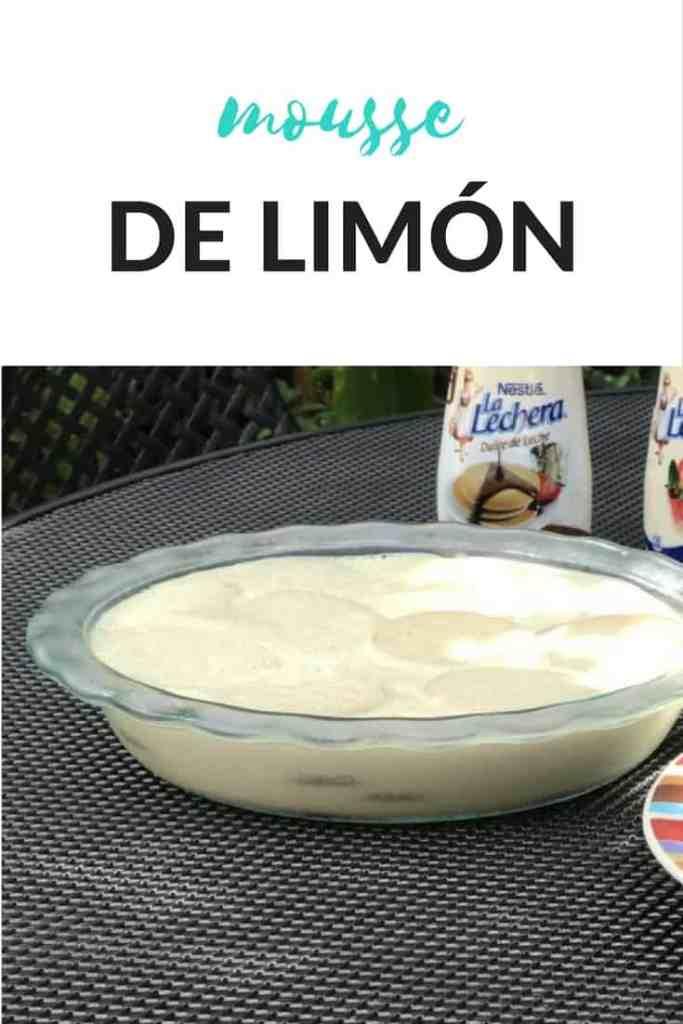 Receta de mousse de limon via hispanaglobal.com