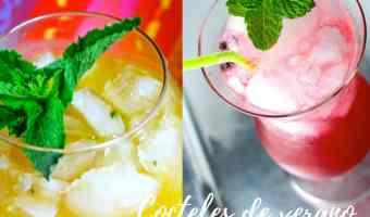Recetas: Cocteles de verano y sus versiones sin alcohol