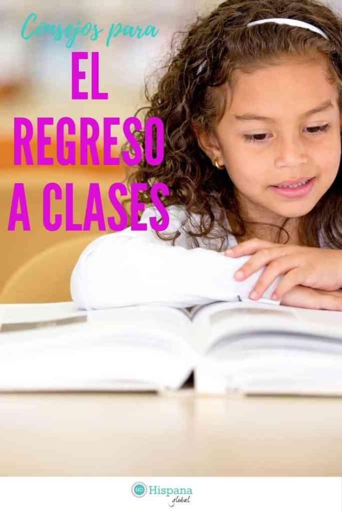 Consejos para el regreso a clases via hispanaglobal.com