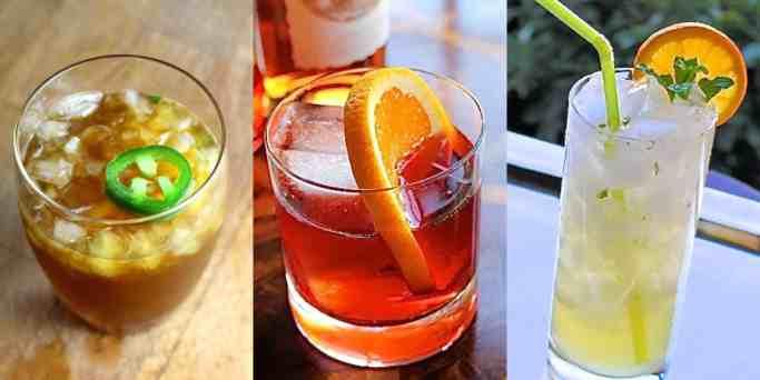 Tres cocteles ideales para una fiesta en el otoño
