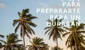14 Consejos A La Hora de Prepararte Para Un Huracán