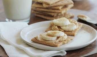 Merienda fácil sin hornear: bocaditos de dulce de leche y queso crema