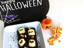 Postre para Halloween: Cómo hacer un cementerio de brownies