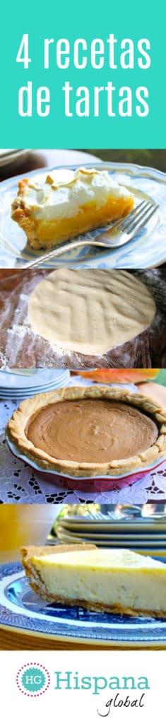 Nadie se resiste a un buen trozo de tarta, pie o pay, sea con helado, nata o simplemente solo. Tenemos deliciosas recetas de tartas, para que sorprendas a tu familia con unos postres espectaculares. Haz clic para ver las recetas.