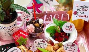 Cómo hacer un desayuno sorpresa para mamá en el día de las madres