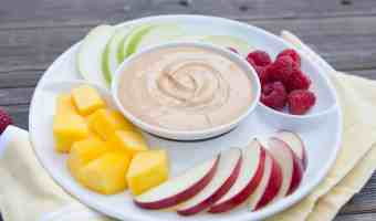 Receta para un picnic: Dip de yogur de dulce de leche