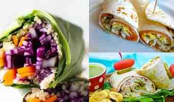 3 recetas de wraps o burritos que no podrás resistir