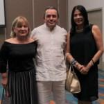 Irina Avenecian, Rufo Muñetón y Rosa Caballero.