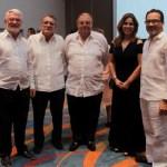 Lee Miles, Edgar Perdomo Andrade, Humberto Benedetti, María Patricia Viaña y Nicolás Pareja.