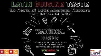 Latin Cuisine Taste