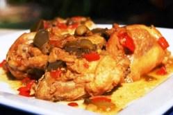Cuban Chicken Fricassee Recipe