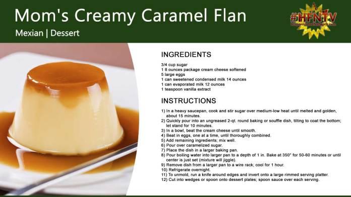 Mom's Creamy Caramel Flan
