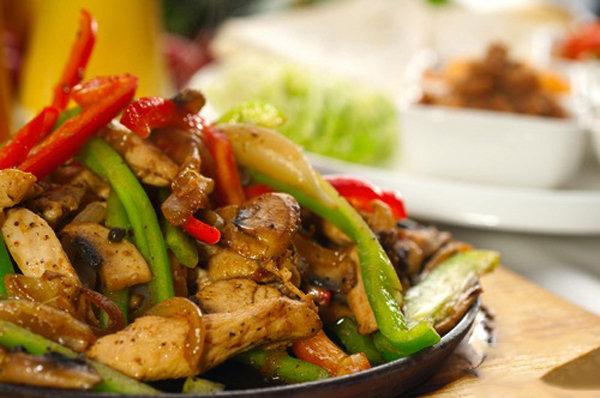 Skinny Chicken Fajita Hispanic Food Network