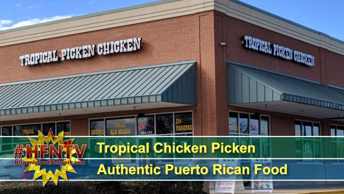 Tropical Chicken Picken Authentic Puerto Rican Food