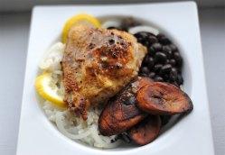 Cuban Garlic Chicken