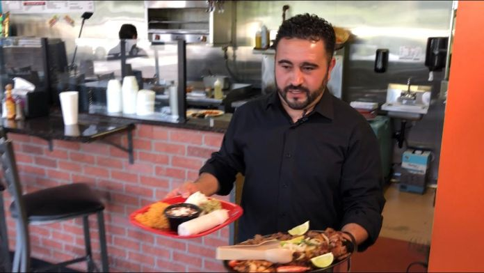 Sergio Diaz is the Co-Owner and GM of Habenero's Mexican Grill