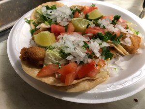 Fish Tacos from Ruby's Taco Truck
