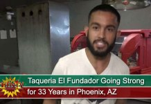 Taqueria El Fundador Going Strong for 33 Years in Phoenix, AZ