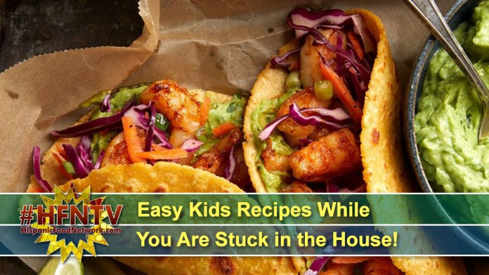 Easy Kids Recipes While You Are Stuck in the House!