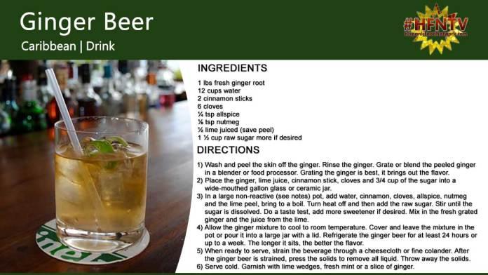 Caribbean Ginger Beer