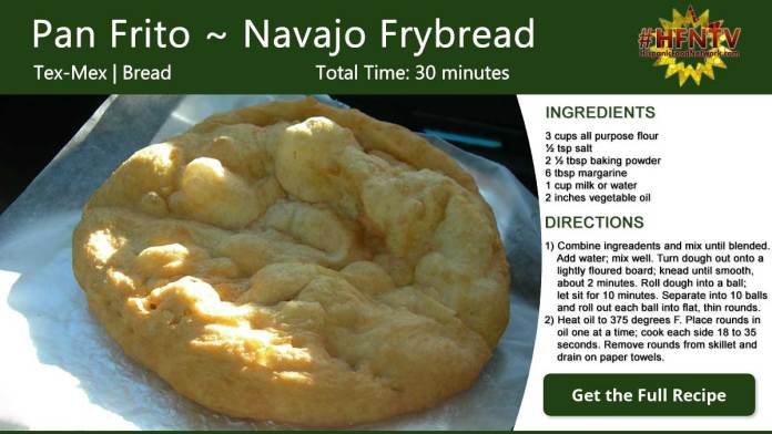 Pan Frito ~ Navajo Frybread