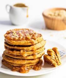 Jamaican Pumpkin Pancakes