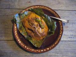Paches ~ Potato Tamales
