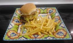 San Antonio Bean Burger