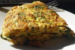 Tortilla de Huevos ~ Egg Omelet