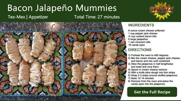 Bacon Jalapeño Mummies