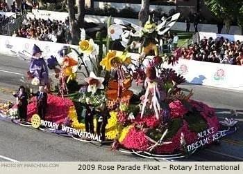 El desfile de las rosas