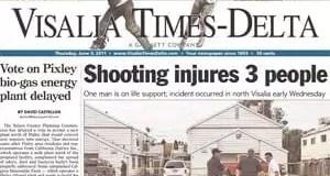 La misión de los medios escritos en el valle central de california