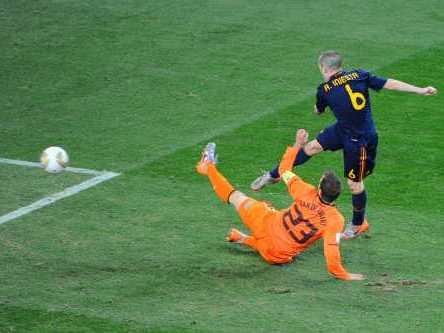 España campeona: la final en soccer city