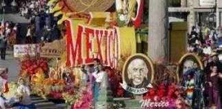Pese a todo, los mexicanos celebran méxico en los Ángeles