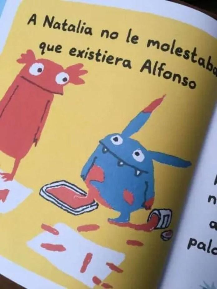 Alfonso, ¡eso no se hace!, un cuento sobre el amor fraternal