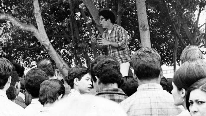 The walkouts of 1968 and the los angeles media