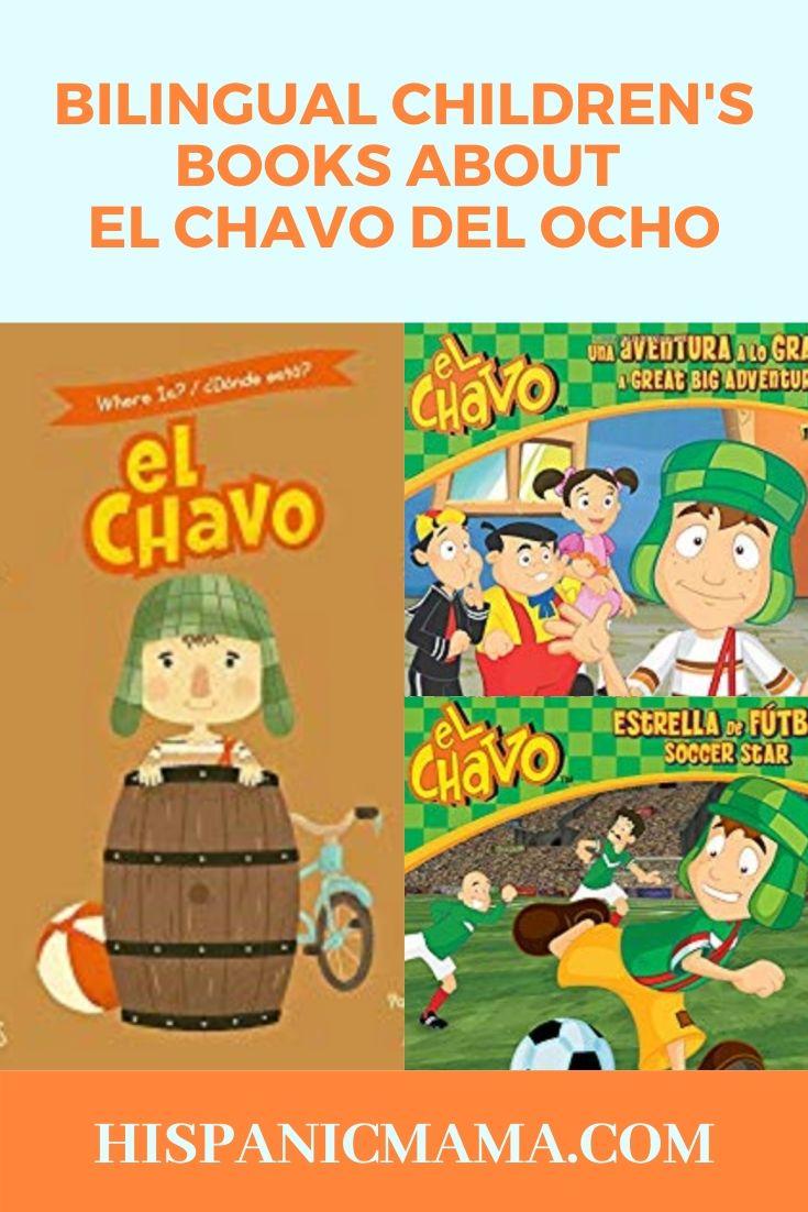 bilingual books about el chavo del ocho