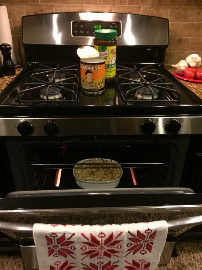 chilaquiles al horno
