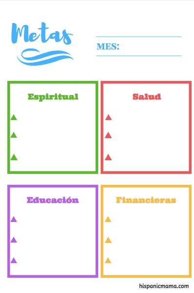 bilingual printable