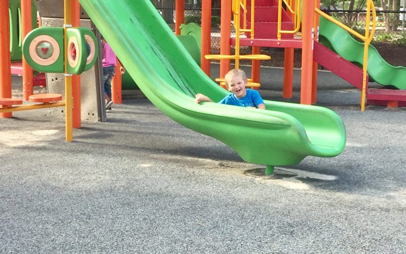 10 Simple Ideas For Toddler Outside Play