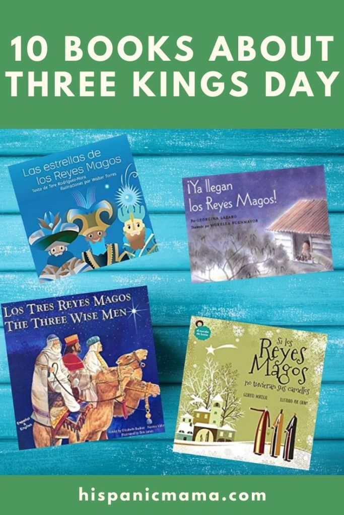 10 Books about Three Kings Day
