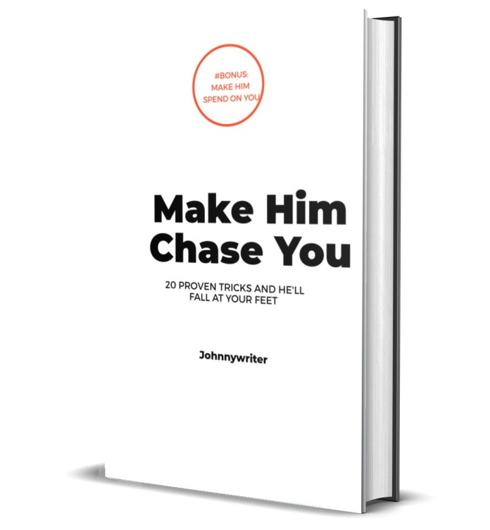 How to make him chase you- eBook