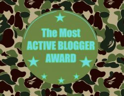 Most Active Blog Award