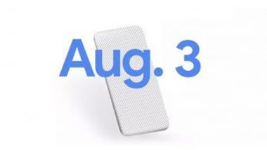 Google Pixel 4a smartphone will be launched on August 3, officially announced